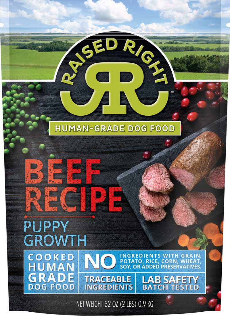Beef Puppy Growth Recipe