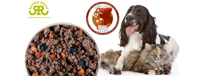 Truth About Pet Food names Raised Right to The List of Trusted Pet Foods